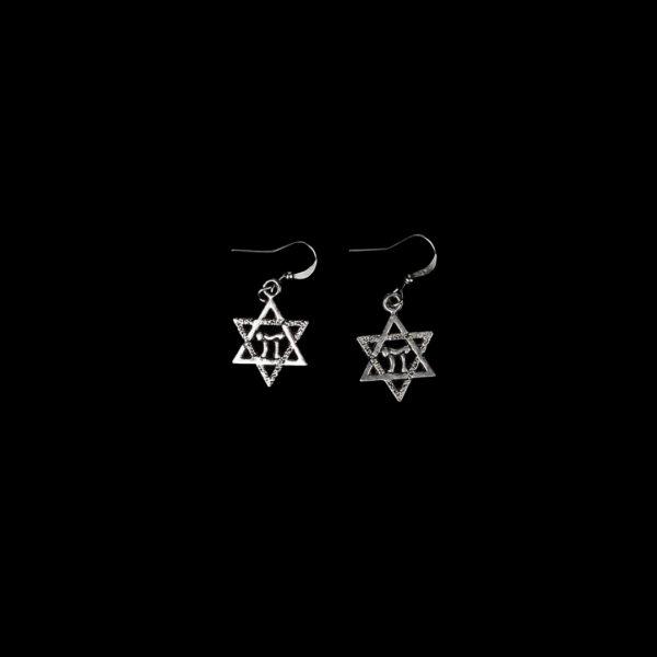 Wiccan Online Shop - Pentagram Earrings