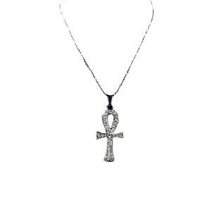 Ankh Pendant with Silver Necklace - Wiccan Online Shop