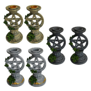 Pentacle Candle Holder - Wiccan Online Shop