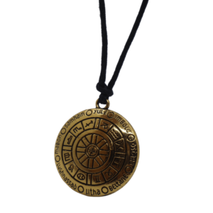 Wheel of the Year Amulet Necklace - Wiccan Online Shop
