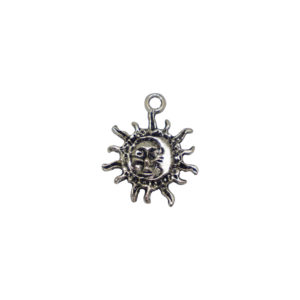 Sun and Moon Silver Pendant - Wiccan Online Shop