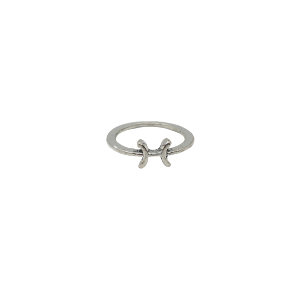 Pisces Zodiac Sign Ring - Wiccan Online Shop