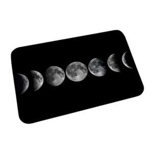 Moon Print Floor Mat - Wiccan Online Shop